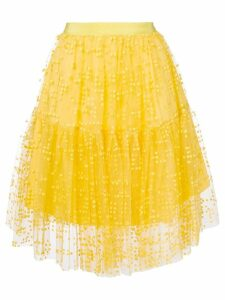 Si-Jay midi tulle skirt - Yellow
