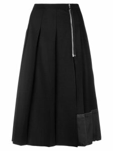 Marc Jacobs pleated midi skirt - Black