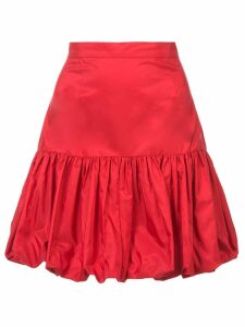 Stella McCartney taffeta peplum skirt - Red