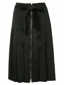 Moschino pleated midi skirt - Black