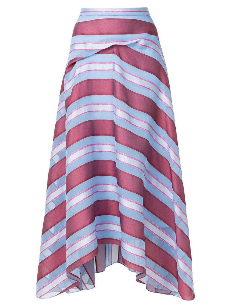 Sies Marjan striped skirt - Blue