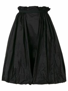 Alexander McQueen high rise full skirt - Black