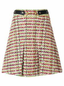 Gucci Horsebit tweed mini skirt - Multicolour