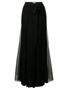 Elie Saab long slit skirt - Black