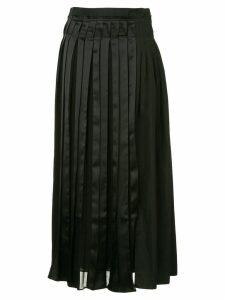 3.1 Phillip Lim layered pleated skirt - Black