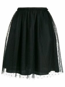 Red Valentino high-waisted skirt - Black