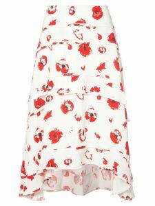 Proenza Schouler Tiered Skirt - Neutrals