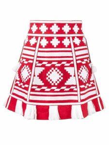 Vita Kin Croatia woven mini skirt - Red