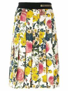 Fausto Puglisi contrast prints midi skirt - Multicolour