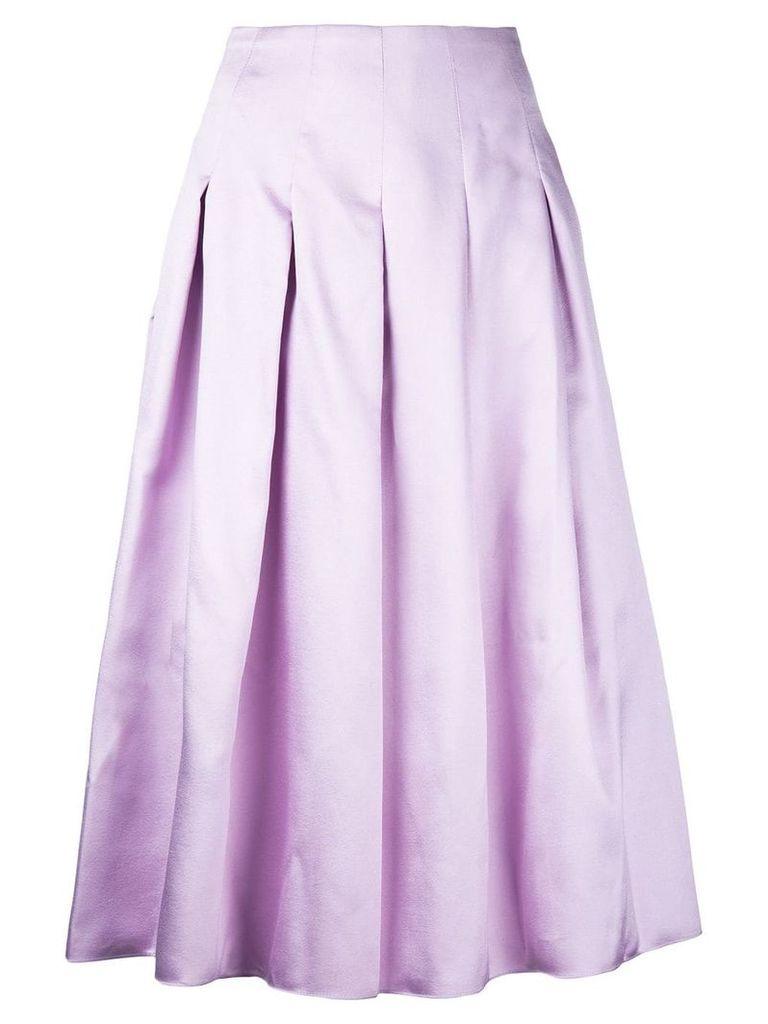 Bambah pleated midi skirt - Pink