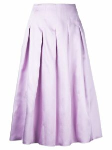 Bambah pleated midi skirt - Pink
