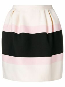 Valentino colour block skirt - Black