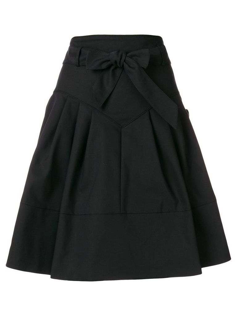 Miu Miu high-waisted flared skirt - Black