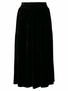 Golden Goose velvet midi skirt - Black