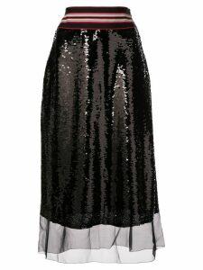 Sachin & Babi Labelle sequin skirt - Black