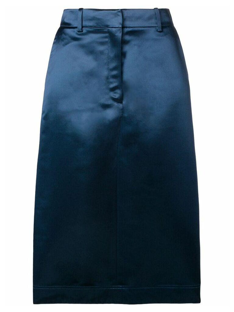 Calvin Klein 205W39nyc classic pencil skirt - Blue