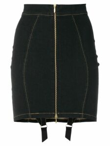 Murmur Denim Candy skirt - Black
