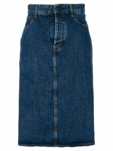 Ports 1961 denim midi skirt - Blue