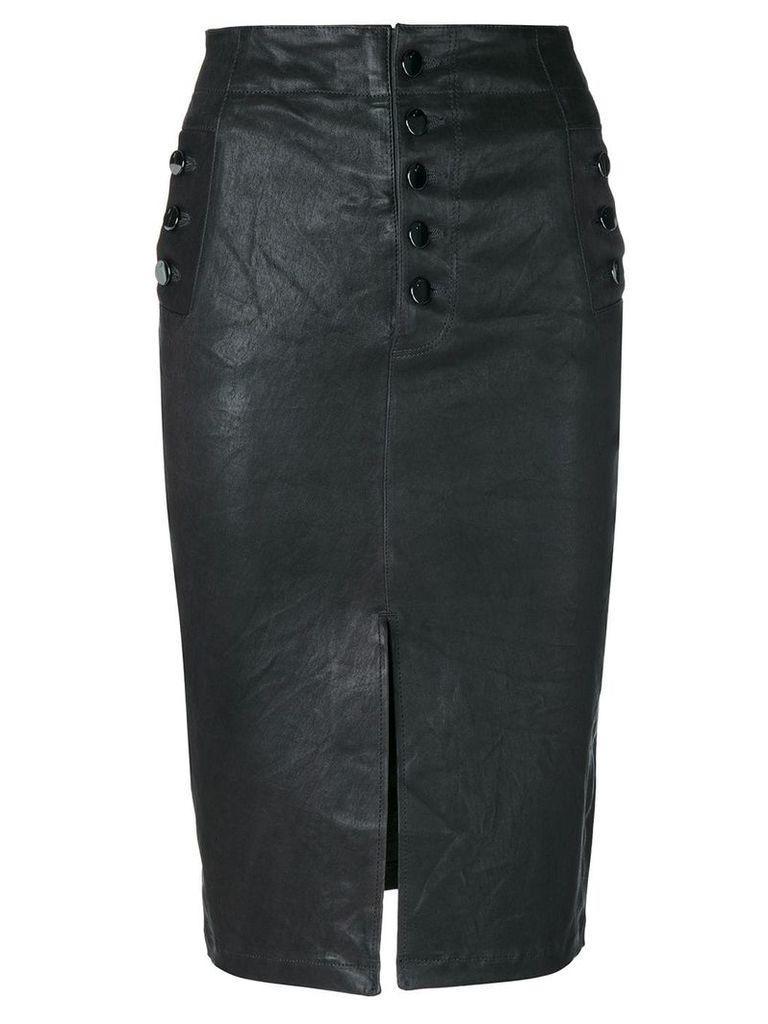J Brand Natasha pencil skirt - Black