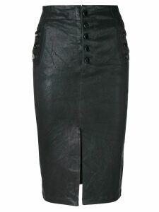 J Brand Natasha pencil skirt - Black