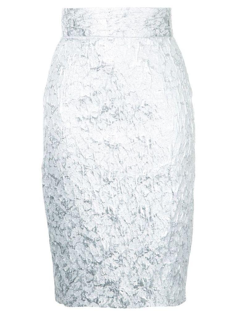 Bambah brocade pencil skirt - Metallic