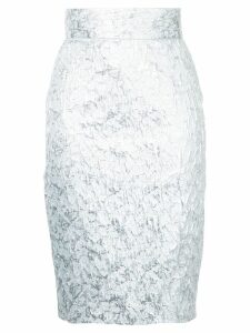 Bambah brocade pencil skirt - Metallic