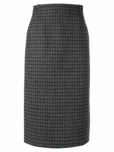 Nº21 check pencil skirt - Grey