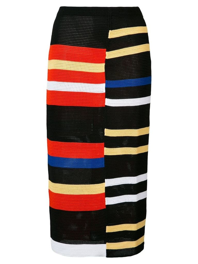 Proenza Schouler striped skirt - Black