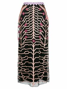 Temperley London Canopy pencil skirt - Black