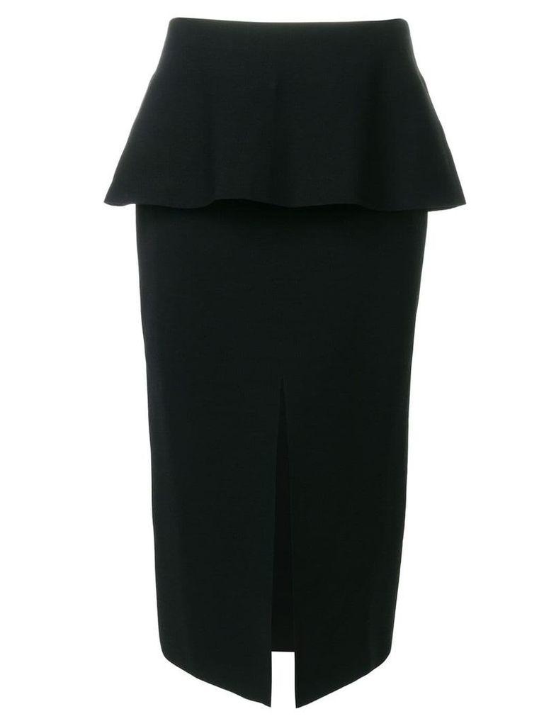 Proenza Schouler front-slit pencil skirt - Black