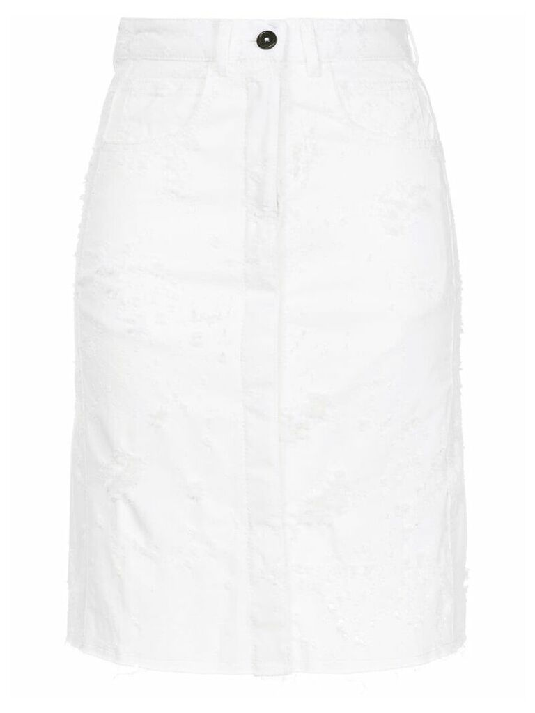 Ann Demeulemeester Norwood skirt - White