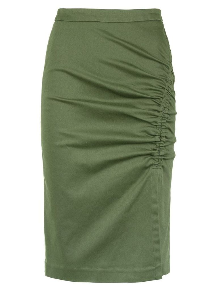 Isolda Heliconia pencil skirt - Green