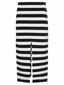 Proenza Schouler Stripe Knit Pencil Skirt - Black