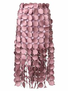 Loewe Dot Cut Out skirt - Pink