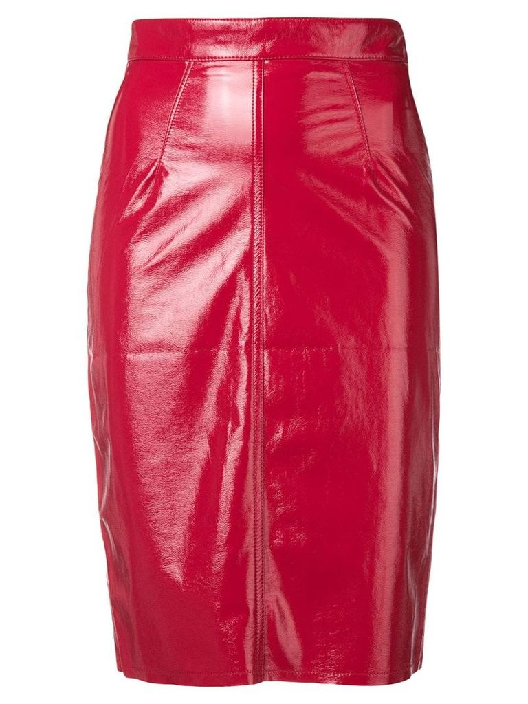 Fiorucci pencil skirt - Red