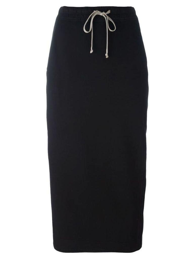 Rick Owens DRKSHDW fitted mid skirt - Black