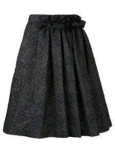 Lanvin jacquard midi skirt - Blue