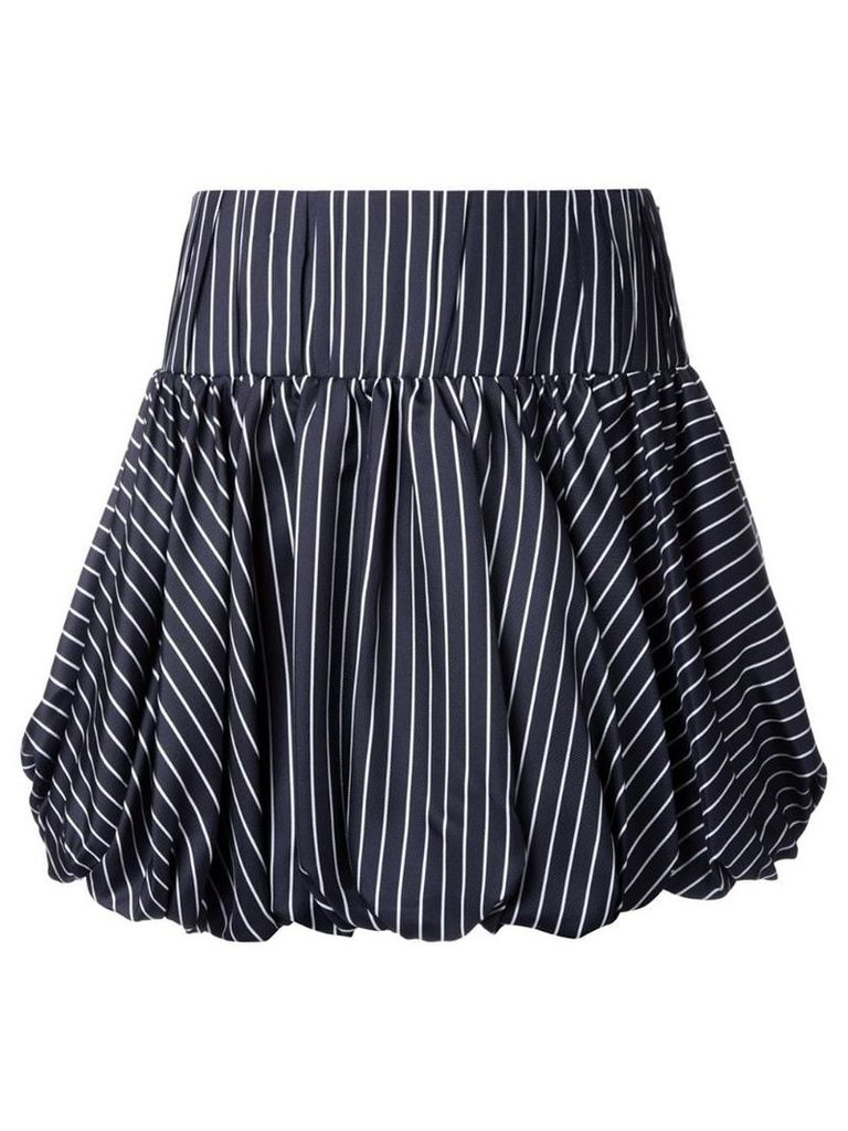Monse striped skirt - Black