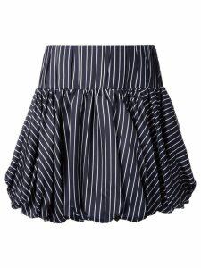 Monse striped skirt - Black