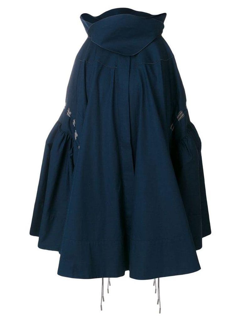 Antonio Berardi pleated skirt - Blue
