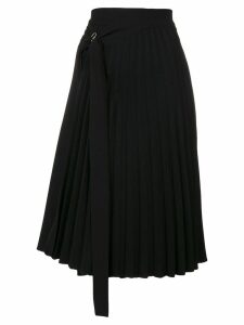 Ioana Ciolacu pleated skirt - Black