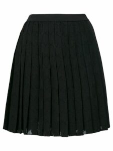 Versace Jeans short pleated skirt - Black