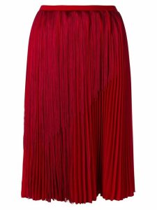 Marco De Vincenzo pleated skirt - Red