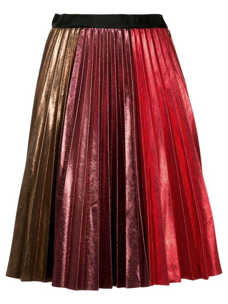 Romance Was Born fortune teller pleat skirt - Multicolour