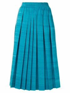 Agnona pleated skirt - Blue