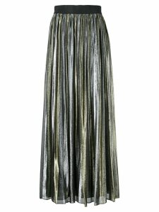 Alice+Olivia Tabetha pleated skirt - Metallic