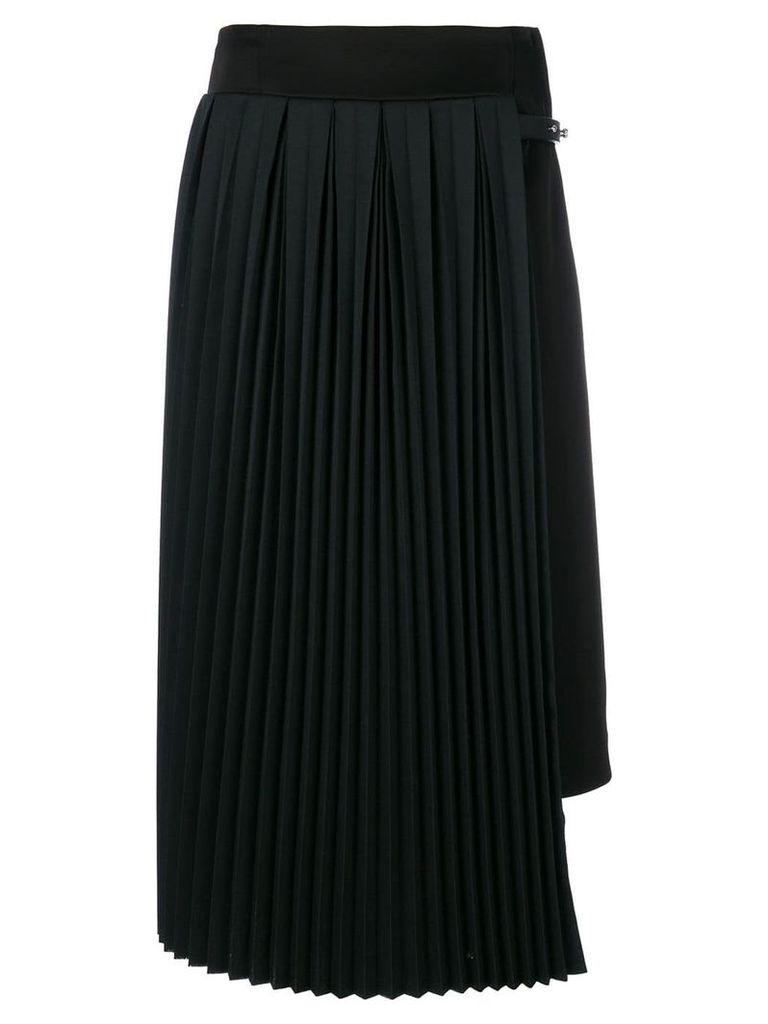 Loewe pleated panel skirt - Black
