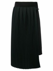 Loewe pleated panel skirt - Black