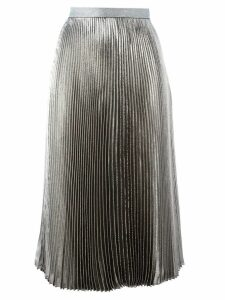 Christopher Kane lamé pleated skirt - Metallic