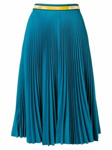 Calvin Klein 205W39nyc pleated midi skirt - Blue